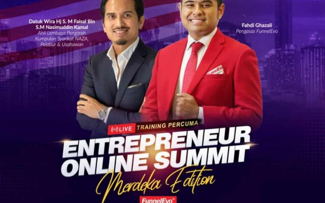 The Entrepreneur Online Summit Merdeka Edition